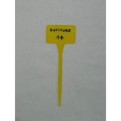 Ficha JOKER amarilla, 135 mm, 100 unid.