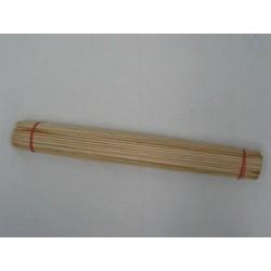 Piqueta de bambú, 400 mm, 100 unid.